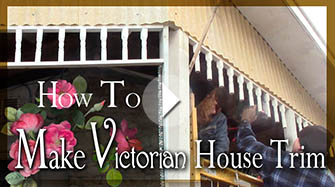 How to Make Victorian Style Fretwork Gingerbread