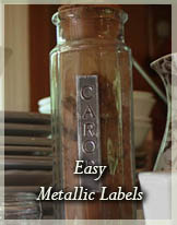 Metallic Labels by Stephie McCarthy