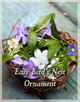 Nest Ornament by Stephie McCarthy