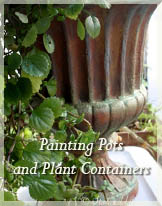 Painting Garden Containers by Stephie McCarthy