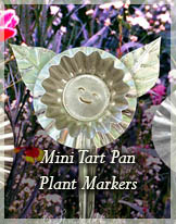 Tart Pan Markers by Stephie McCarthy