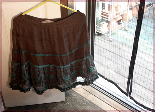 Add ruffles to a screen curtain