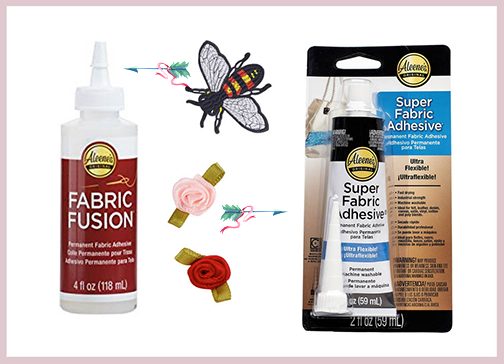 Glue for Fabric Appliques