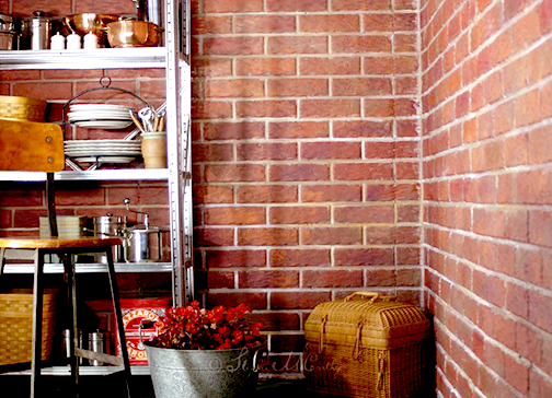 Painting 3D brick panels with realistic faux bricks