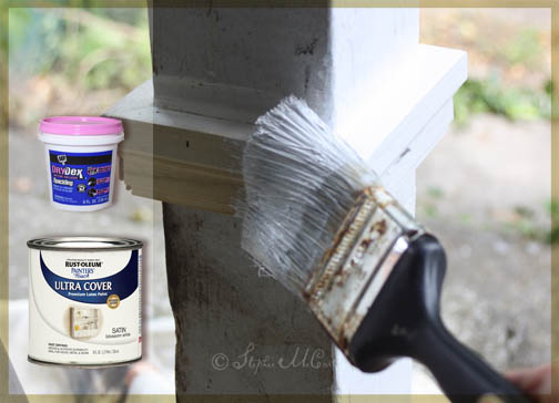 Using spackle craft