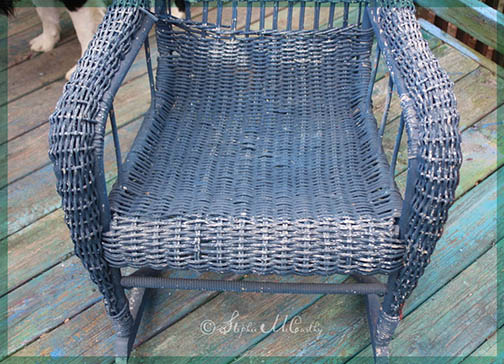 restore chipping wicker