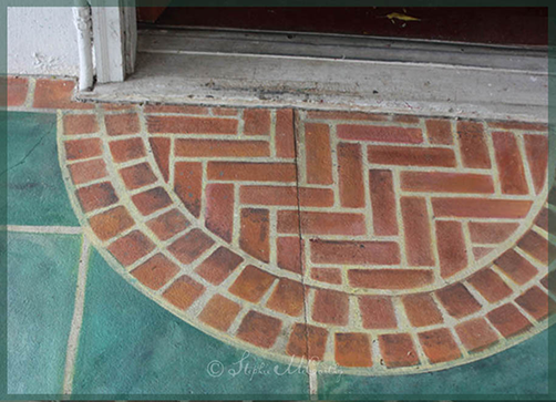 Painting Faux Bricks on Concrete