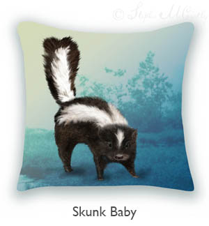 Buy Skunk Baby Pillow